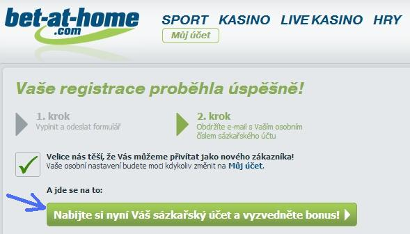 Registrace do online casina bet-at-home - 3