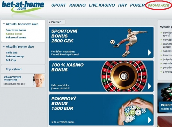 Bet-at-home - Promo akce