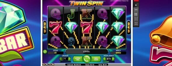 Twin Spin na Royal Panda casinu