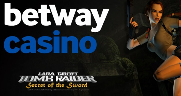 Betway Casino free spins Tomb Raider