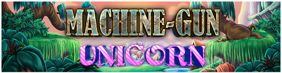 Machine Gun Unicorn Online Automat - Norsk Microgaming Casino