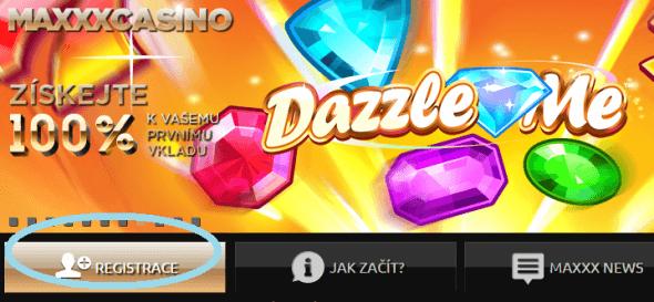 online casino v korunach