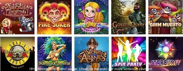 Online casino hry vTipsport Vegas
