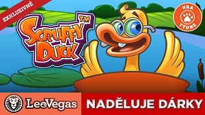 Online casino LeoVegas rozdává hry na automaty zdarma - Scruffy Duck