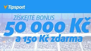 Online sázková kancelář Tipsport bonus