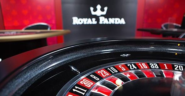 Živá ruleta Royal Panda