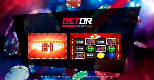 Betor online games Multiplay 81