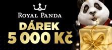 Royal Panda kasino má pro vás skvělý bonus 5 000 Kč