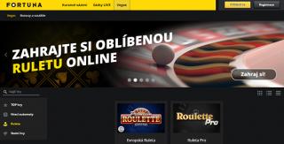 Online ruleta ve Fortuna casinu