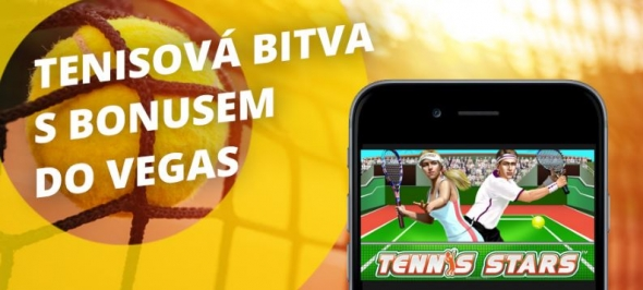 Online Fortuna casino: 50 free spinů na automat Tennis Stars