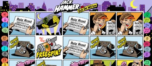 Jack Hammer 2™ Hra Hrací Automat Zadarmo na NetEnt s Online Kasínach