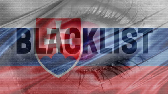 blacklist na internetu