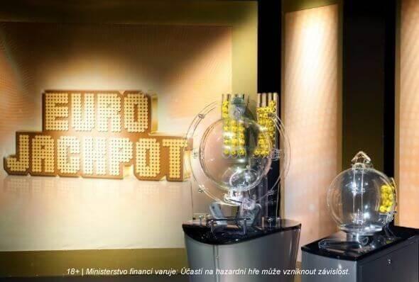 Slosování evropské loterie Eurojackpot