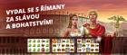 Automat Rome a Glory s výhrou 231 250 korun!