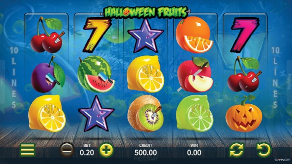 Hrací Automat Halloween Fruits