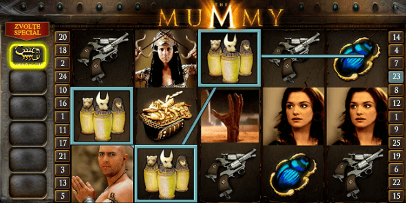 Automat The Mummy