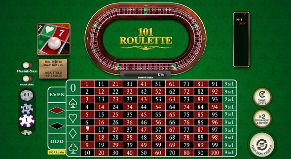 101 Roulette ve Fortuna Casinu