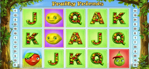Online hrací automat Fruity Friends