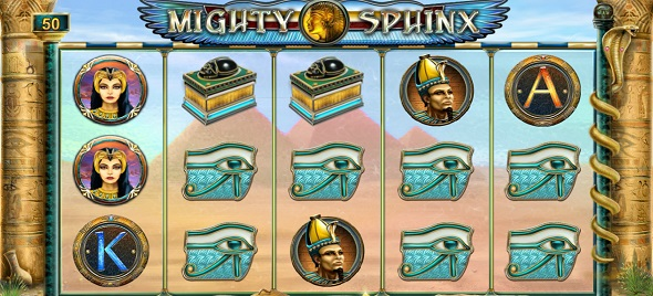 Online hrací automat Mighty Sphinx