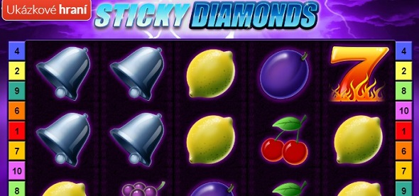 Hrací automat Sticky Diamonds