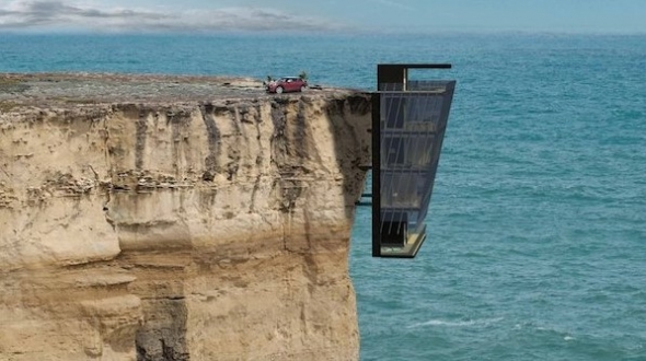 Vertiginous Cliff House