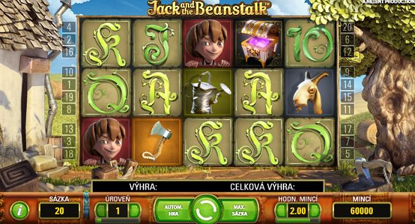 Automat Jack and the Beanstalk
