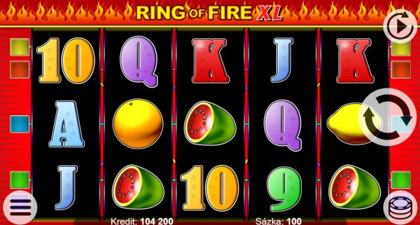 Ring of Fire XL - recenze automatu