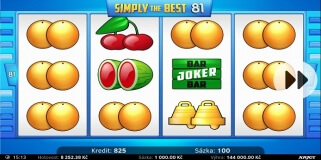Jackpot u SIMPLY THE BEST 81 v SYNOT TIPu