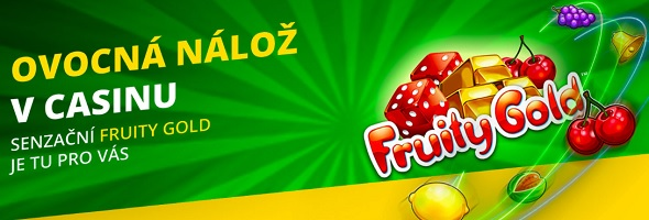 Senzační Fruity Gold ve Fortuna casinu