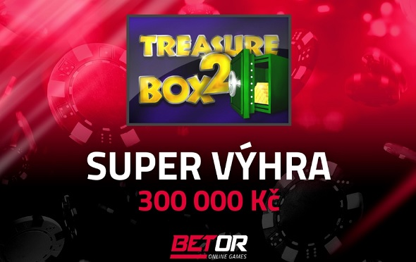Super výhra na automatu Treasure Box 2