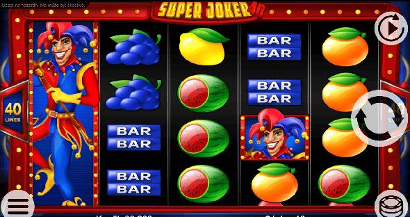 Automat Super Joker 40