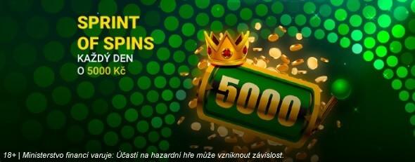 5 turnajů o25 tisíckorun