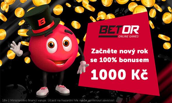 Vkladový bonus až 1000Kč uBetoru