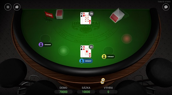 Multi Blackjack u Tipsport Vegas